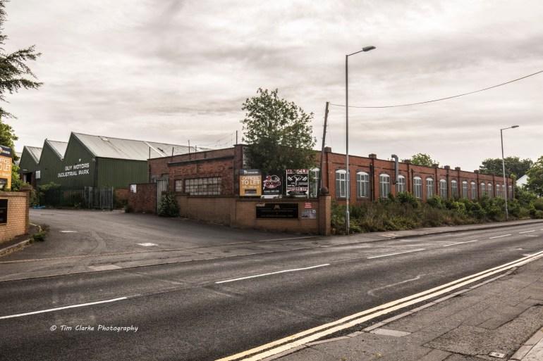 The Old Guy Motors Factory, Park Lane, Wolverhampton.