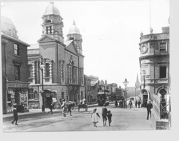 Darlington Street Methodist Church in the 1900s