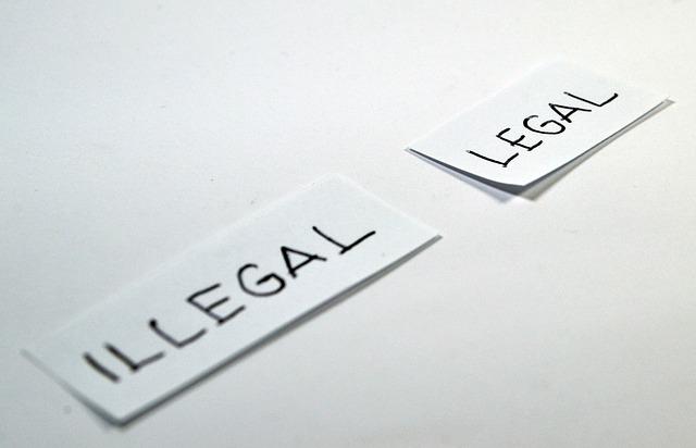 違法か合法か