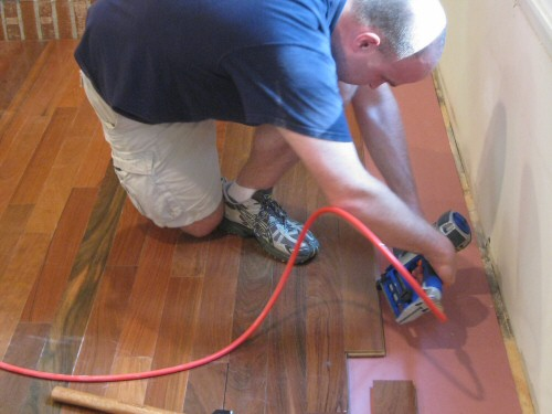 Installing Hardwood Floors Without Nailer
