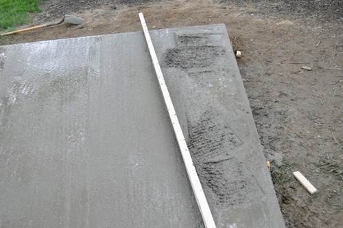 Leveling A Shed On Concrete