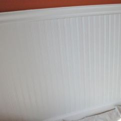 Beadboard Chair Rail Ruffled Cushions How To Install Wainscoting One Project Closer Materials List