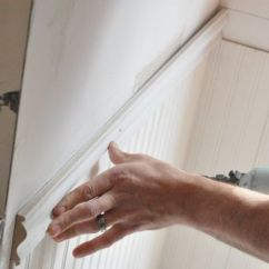 Beadboard Chair Rail Bruno Lift Maintenance How To Install Wainscoting One Project Closer For