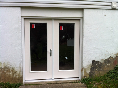 How to Install a Patio Door  One Project Closer