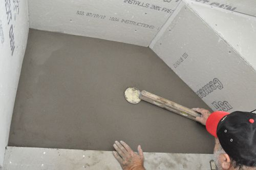 How to Pour a Shower Pan  One Project Closer