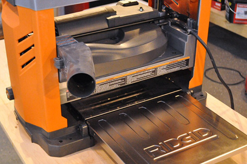 13 Ridgid Thickness Planer Review  One Project Closer