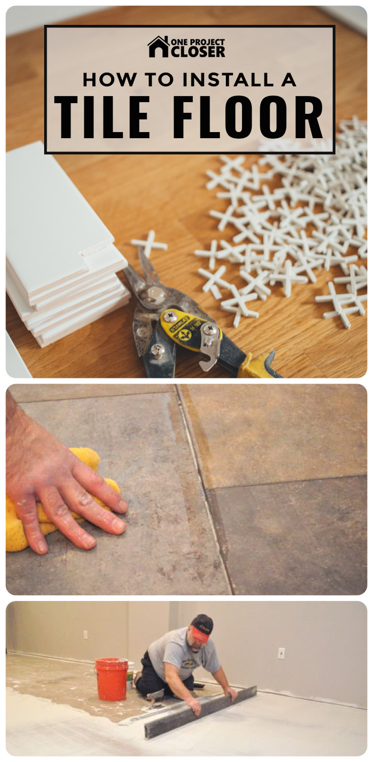 to install a tile floor complete guide