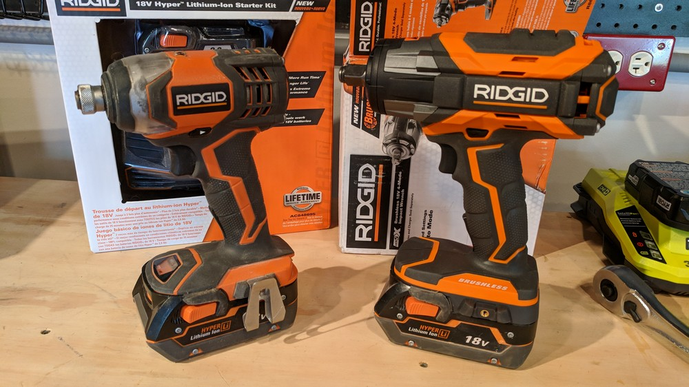 Ridgid Power Tools Lifetime Warranty Registration