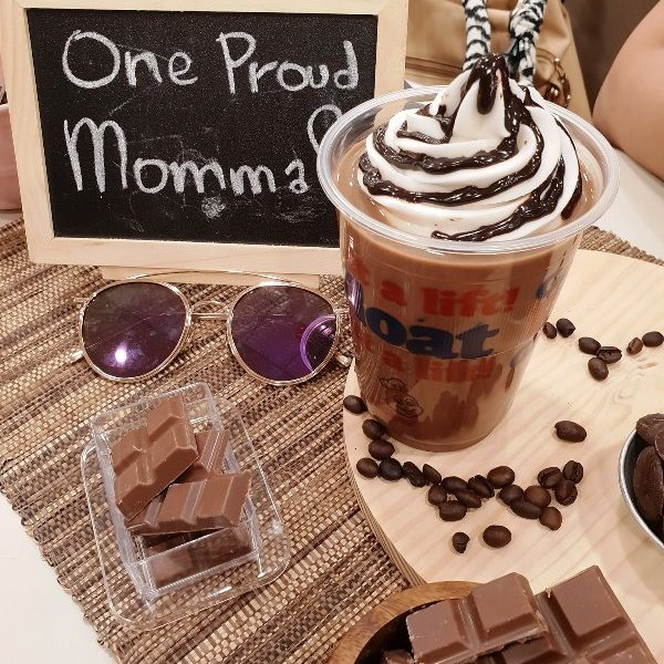 Jollibee Coffee Mocha Float and Brewed Coffee