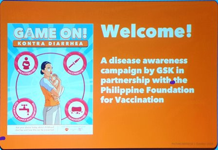Game On: Kontra Diarrhea Campaign of GSK and PFV