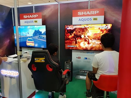 Sharp Philippines Joins the Electronic Sports and Gaming Summit
