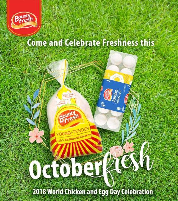 Bounty Fresh: World Chicken and Egg Day 2018