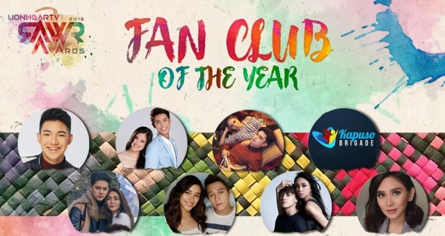 RAWR AWARDS 2018 FAN CLUB of the year