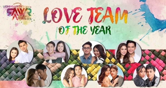 RAWR AWARDS 2018 LOVE TEAM