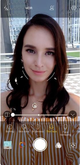 VIVO V11 AI Face Shaping