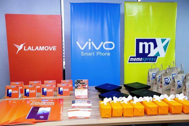 Vivo partners with Lalamove and MemoXpress