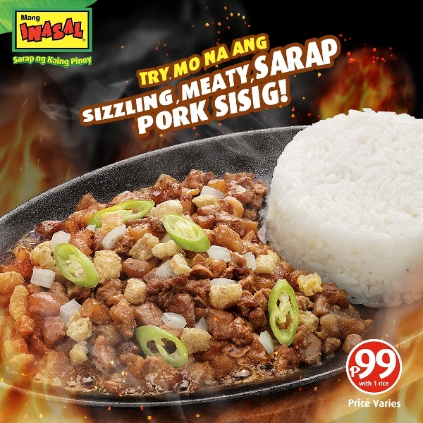 Have You Tried the Mang Inasal Pork Sisig Yet?