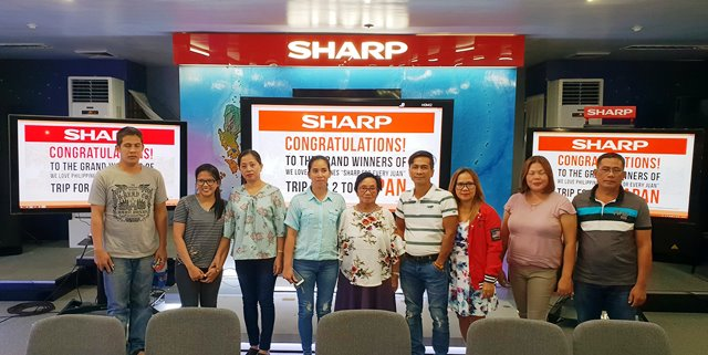 Sharp Winners of #WeLovePhilippines Trip for 2 to Japan