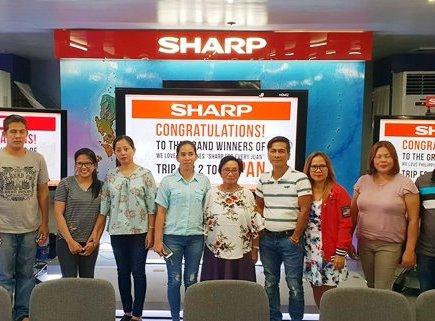 Sharp We Love Phiippines Sharp For Every Juan Winners