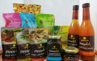Goldilocks PINOYDELI and SWEET TREATS Line - Your Balikbayan Basics