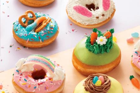 Krispy Kreme Easter Doughnuts