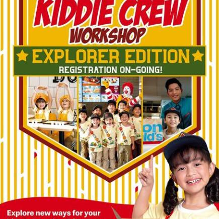 McDonalds Kiddie Crew Workshop Explorer Edition