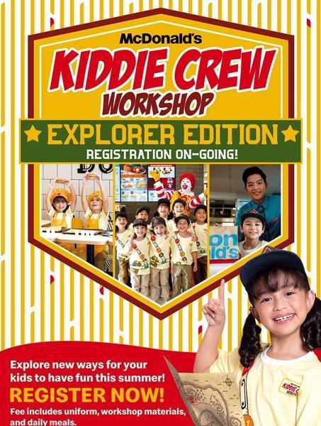 McDonalds Kiddie Crew Workshop Explorer Edition