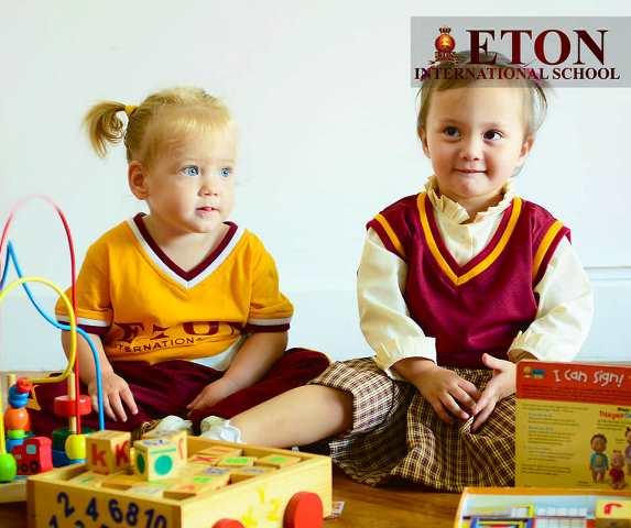 ETON International School PreSchool Students