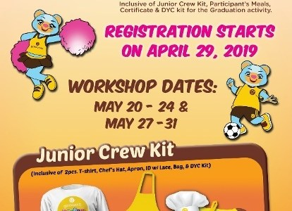Goldilocks Junior Crew Program Registration