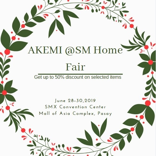 AKEMI PH SM Home Fair