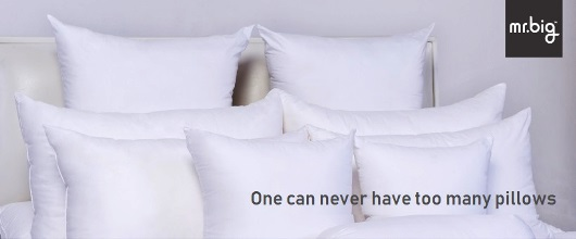 Mr. Big Pillows