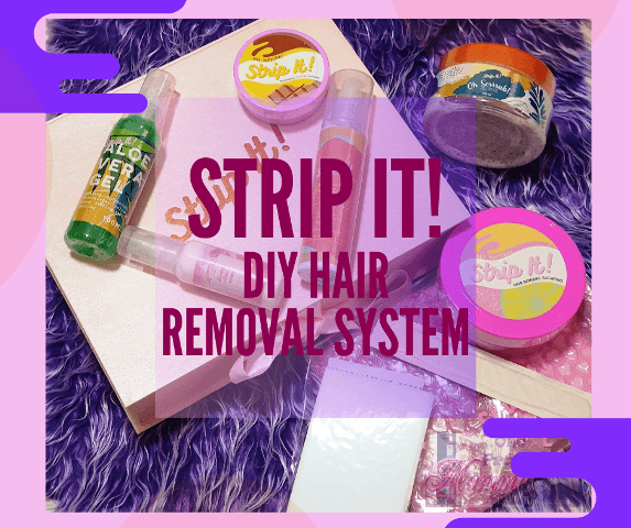Strip It! DIY Hair Removal System