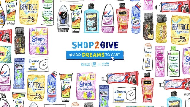 Shop2Give #AddDreamsToCart