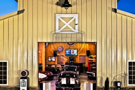 Armstrong Steel building garage
