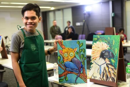 Southstar Drug Benedict Rodland Quintela II and his artwork