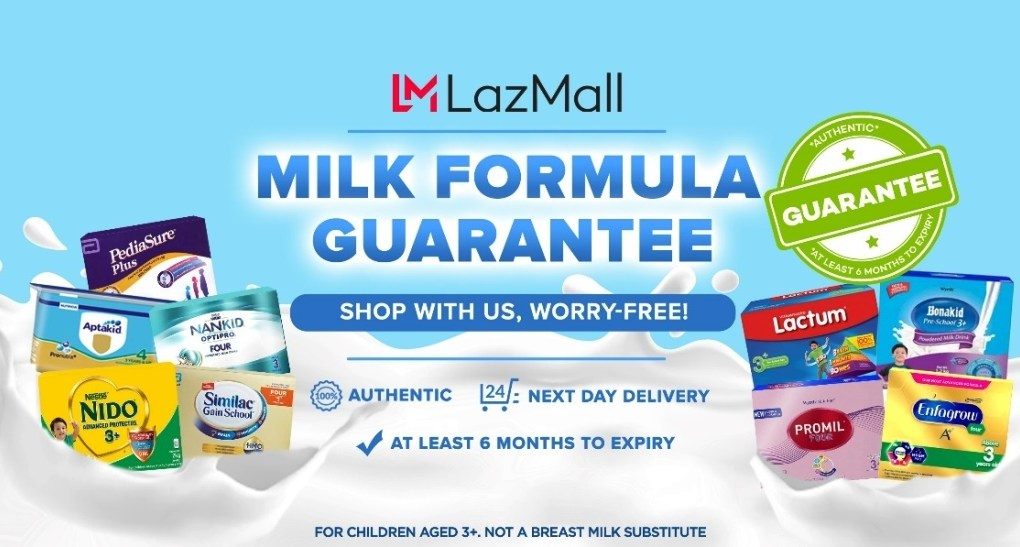 Lazada Milk Guarantee Program