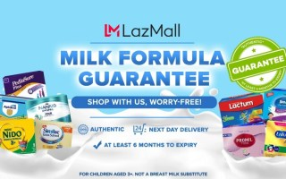 Lazada Milk Guarantee Program