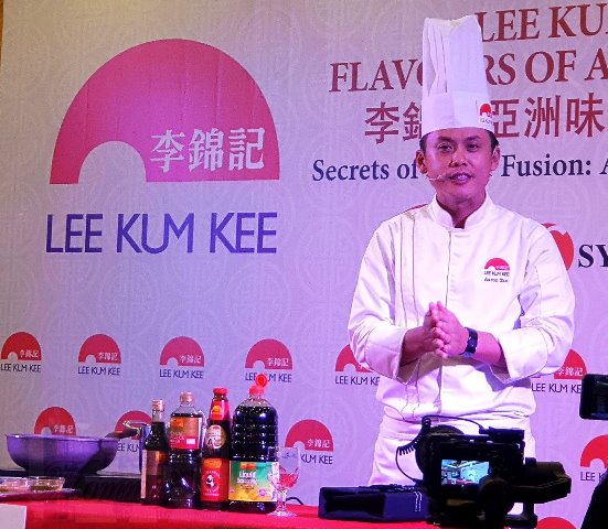 Lee Kum Kee Chef Aaron Tan Kean Loon