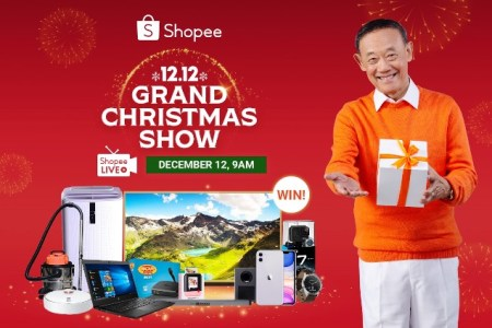 Shopee 12.12 Grand Christmas Show with Jose Mari Chan