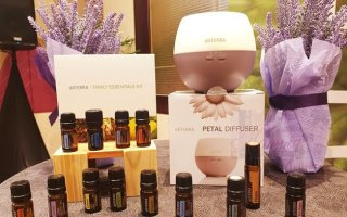 dōTERRA Essential Oils with diffuser
