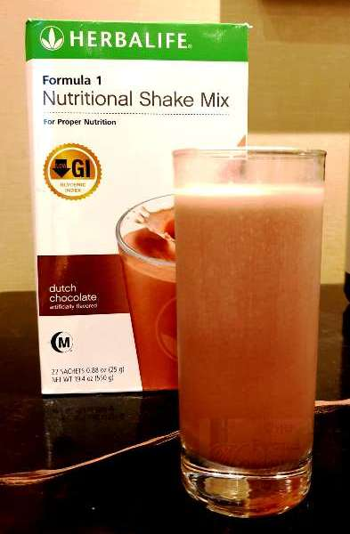 Herbalife Nutritional Shake Mix Dutch Chocolate