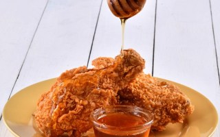 Popeyes Chicken with Honey