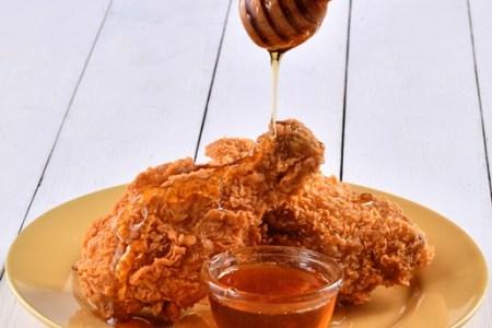 Popeyes Chicken with Honey