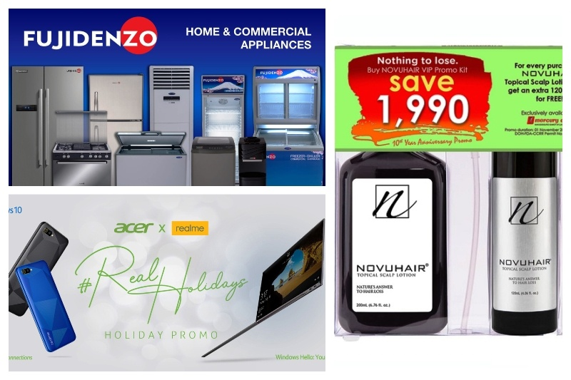 Trendspotting Sponsors Acer Philippines, Novuhair, Fujidenzo