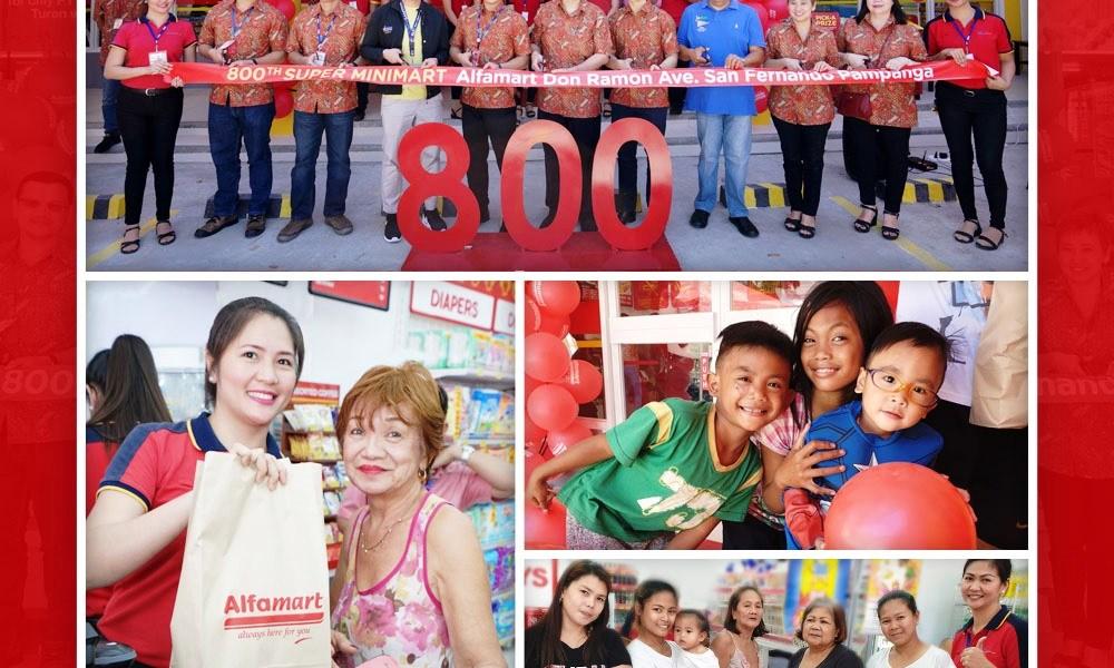 Alfamart Opens 800th Store