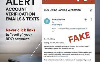 #BDOAntiScam Campaign