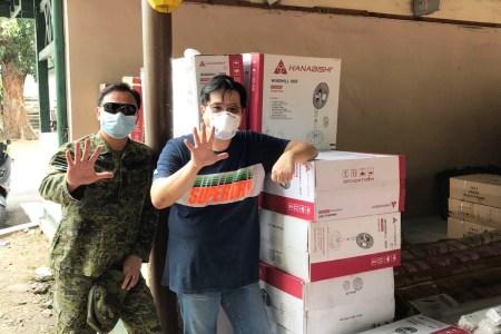Hanabishi Donation to PGH