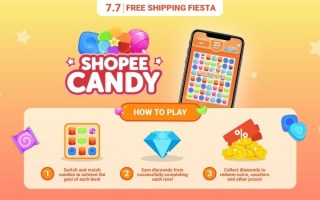 Shopee 7.7 Shopee Candy