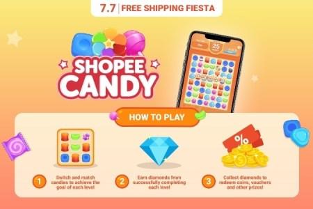 Shopee 7.7 Shopee Candy