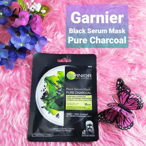 Garnier Black Serum Pure Charcoal Face Mask